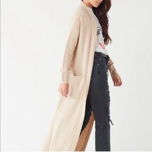 Urban outfitters Jenny Duster Cardigan